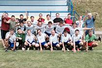 Lázeňský pohár v Klimkovicích - fotbalový tým TJ Velichovky.