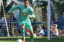 Brankář FC Hradec Králové Tomáš Koubek.
