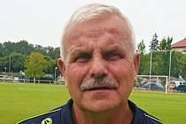 Hlavní trenér hradeckého béčka Karel Krejčík.