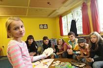 Děti z klubu Klídek pod záštitou sdružení Prostor pro.