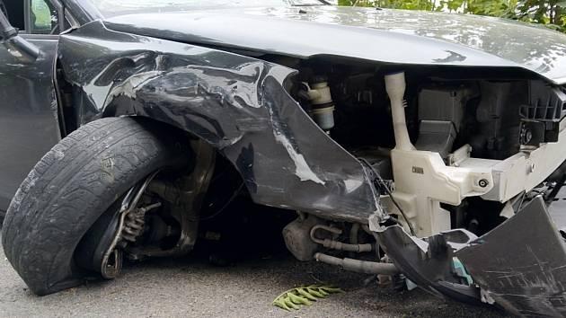 Nehoda - ilustrační foto.