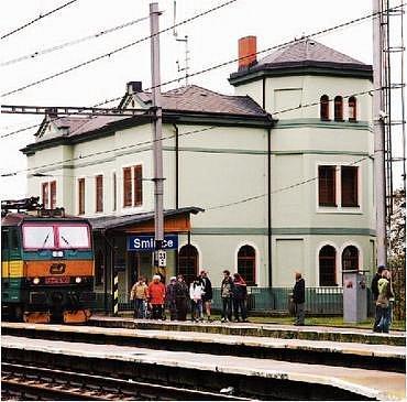 Vítězní nádraží ve Smiřicích