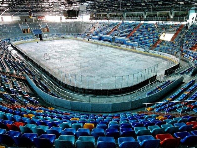Zimní stadion v Hradci Králové. Ilustrační foto.