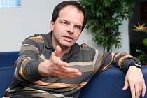 Generální manažer hokejového klubu HC VCES Hradec Králové Roman Višňák.
