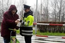 Chci být vidět - policejní kampaň v Hradci Králové.
