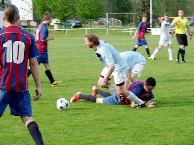 Krajská fotbalová I. B třída: TJ Sokol Malšovice - TJ Jiskra Kocbeře.