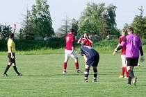 Krajská fotbalová I. B třída, skupina E: TJ Slavoj Předměřice nad Labem - TJ Lokomotiva Hradec Králové.