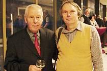Josef Masopust (vlevo) a Lubomír Douděra.