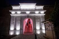 Nově zrekonstruované schodiště bono publico v Hradci Králové