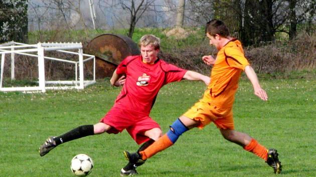 Okresní fotbalová Albron III. třída: Ohnišťany - Nový Bydžov C.