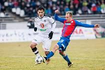 Fotbalová Synot liga: FC Hradec Králové - FC Viktoria Plzeň.