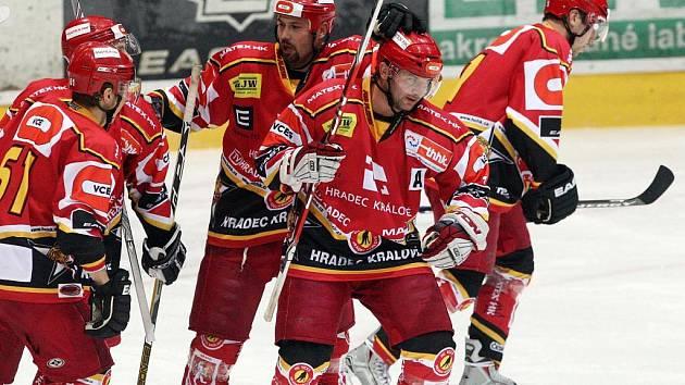 HC VCES Hradec Králové x HC Vrchlabí (27. října 2010).