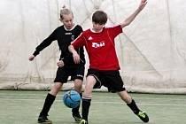 HPi Stěžerská zimní halová liga mládeže ve fotbale.