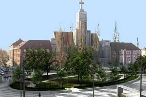 Náměstí 28. října v Hradci Králové, Ing. arch. Ján Vasičák, Ing. arch. Tomáš Pokorný, Ing. arch.Ľubomír Ondrejka