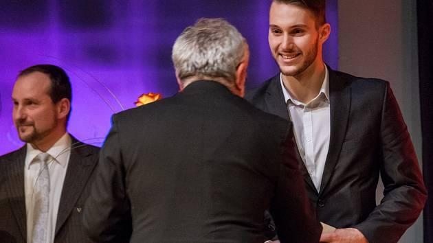 Z vyhlášení výsledků ankety Nejúspěšnější sportovec roku 2015 města Hradec Králové.