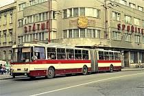 Výstava trolejbusů