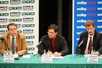 Krajské volby 2008, předvolební diskuse v Hradci Králové