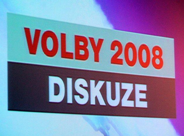 Krajské volby 2008, předvolební diskuse v Chrudimi