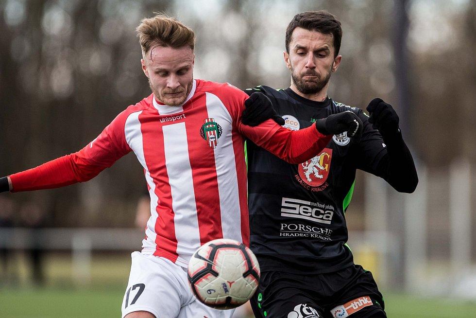 Zimní příprava fotbalistů: FC Hradec Králové - FK Viktoria Žižkov.