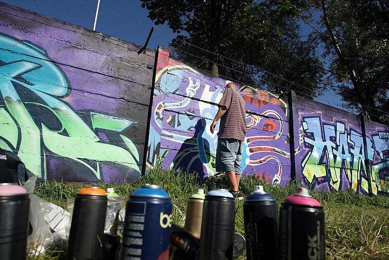 Atmosféra na Hip Hop Kempu 2010.