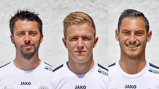 Jiří Janoušek, Tomáš Hynek a Jiří Miker.