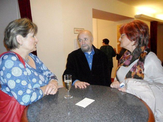 Výstava výtvarníka Jiřího Šindlera.