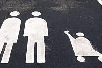 Parkování prro matky s dětmi