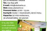 """Restaurace """"U Kalvárie"""", Moravská Třebová"""