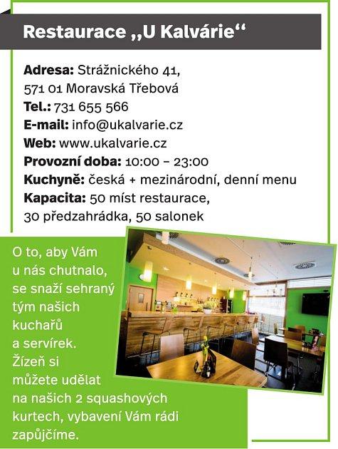Restaurace 'UKalvárie', Moravská Třebová