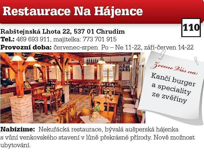 Restaurace Na Hájence