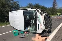 Smrtelná nehoda u Stěžer