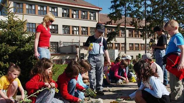 Nechanické děti před školou