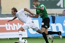 2. kolo Gambrinus ligy: FC Hradec Králové – Baumit Jablonec 2:2 (0:1).