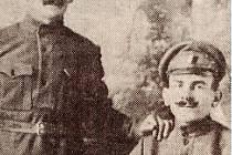 OBA BRATŘI se setkali u 3. střeleckého pluku Jana Žižky z Trocnova. Poté se však jejich cesty opět rozdělily.