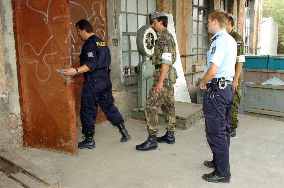 Skladiště jedů v Libčanech