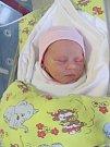 VIKTORIE KÁDOVÁ udělala svým příchodem na svět radost manželům Kádovým z Kunčic. Narodila se 2. ledna ve 4:40 hodin. Viktorie přišla na svět s váhou 2720 g a délkou 49 cm. Doma se na malou sestřičku těší bratr Vojta.
