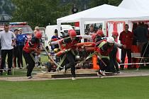 Poslední kolo Východočeské hasičské ligy v Pšánkách