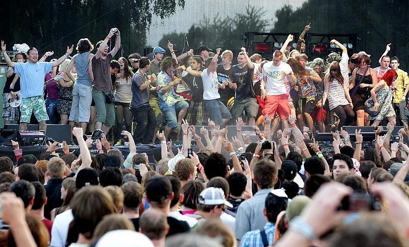 Rock for People. Neděle 4. července.