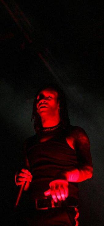 Rock for People. Neděle 4. července. Na snímku skupina The Prodigy /GB/.