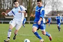 Krajský přebor ve fotbale: SK Týniště nad Orlicí - RMSK Cidlina Nový Bydžov.
