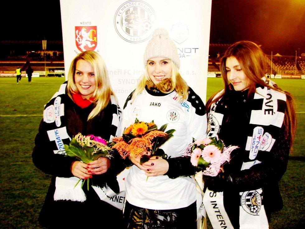 Miss internet klubu FC Hradec Králové.
