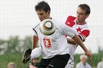 Přípravný zápas FC Hradec - Slavia Praha. Sobota 9. července 2011.