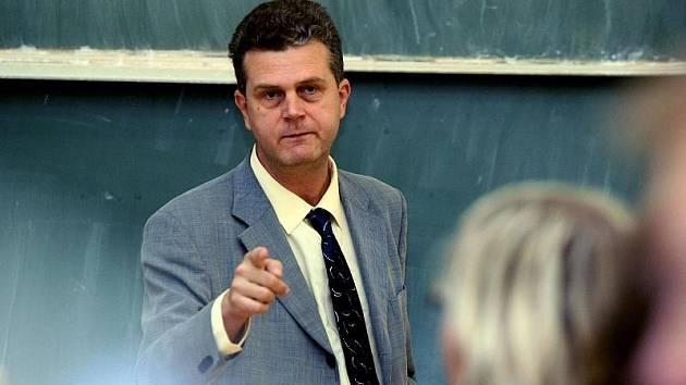 Jindřich Vedlich, učitel na univerzitě