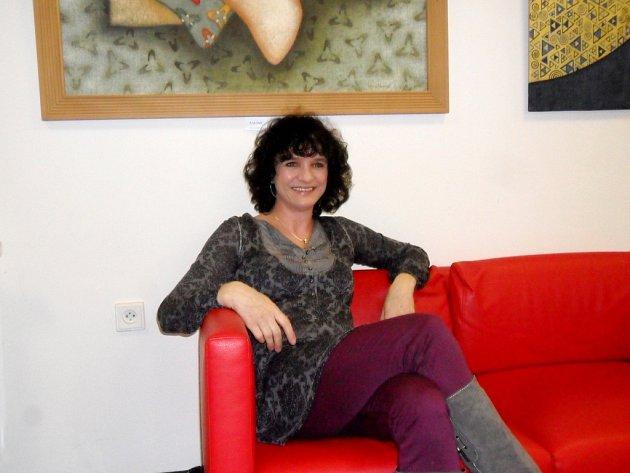 Královéhradecká výtvarnice Lucie Staňková.