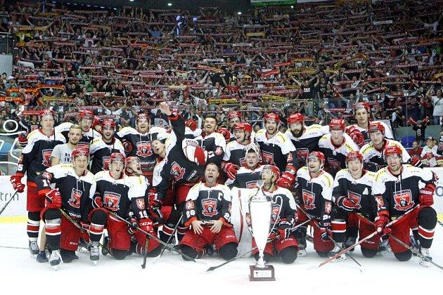 Mountfield HK - vítěz domácího hokejového turnaje Mountfield Cup.