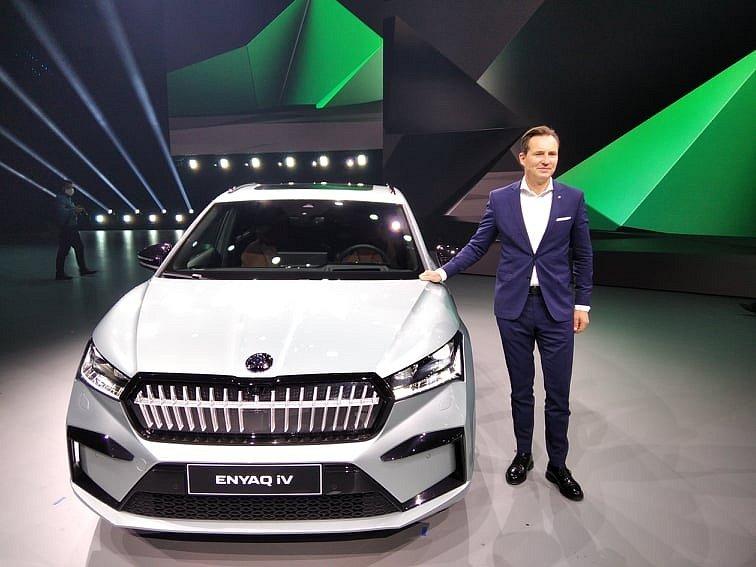 Nová Škoda Enyaq představena