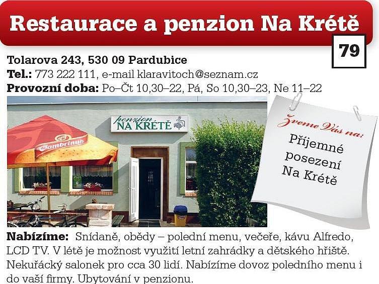 Restaurace a penzion Na Krétě
