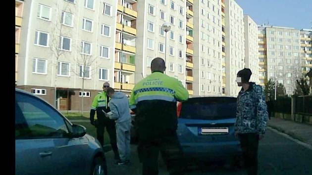 Mladý řidič přistižený pod vlivem drog.