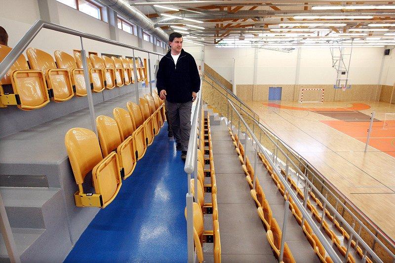 Hradec má novou sportovní halu za sedmdesát milionů korun.