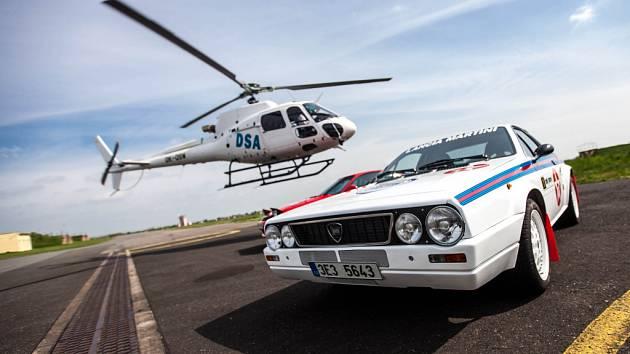 Helicopter show a Rally show v Hradci Králové - tisková konference a ukázka.